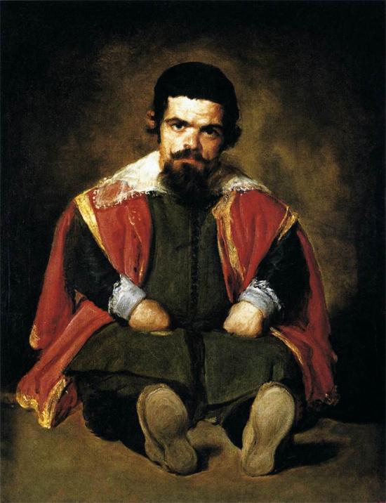"""1645 Веласкес Диего """"Карлик Себастьян де Морра."""""""