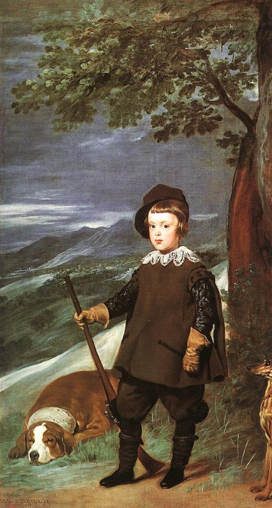 "1636 Веласкес Диего ""Принц Бальтазар Карлос на охоте."""
