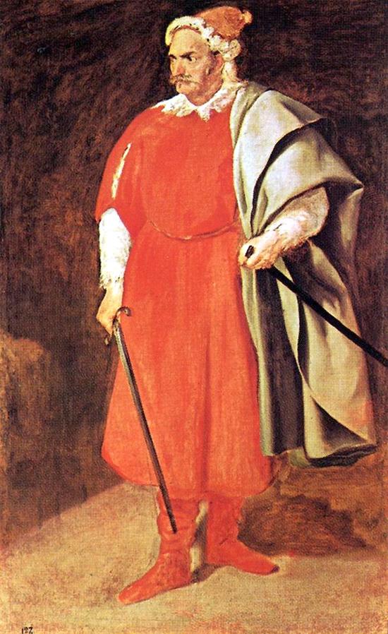 """1651 Веласкес Диего """"Портрет шута."""""""