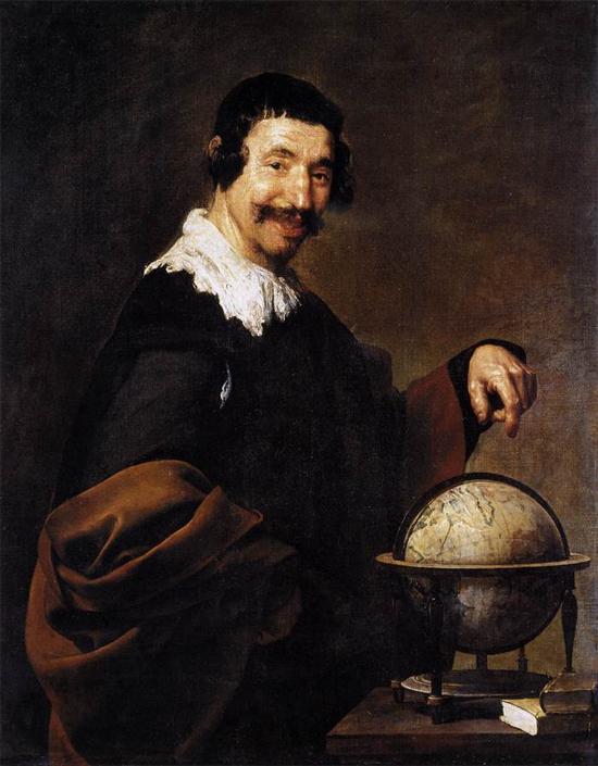 """1629 Веласкес Диего """"Демокрит."""""""
