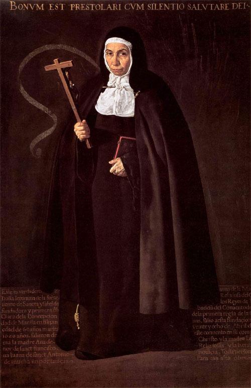 """1620 Веласкес Диего """"Игуменья Джеренима де ла Фуэнте."""""""