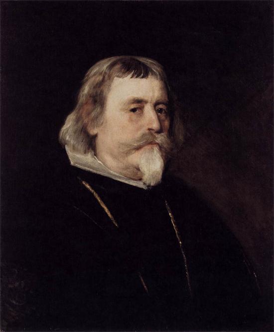 """1635 Веласкес Диего """"Портрет рыцаря ордена Сантьяго."""""""