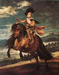 Конный портрет инфанта