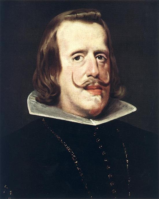 """1652 Веласкес Диего """" Портрет Филиппа IV."""""""