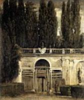 Вилла Медичи, большая лоджия фасада. 1630