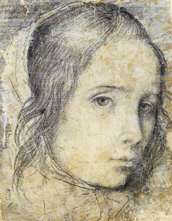 """1618 Веласкес Диего """"Голова девочки."""""""