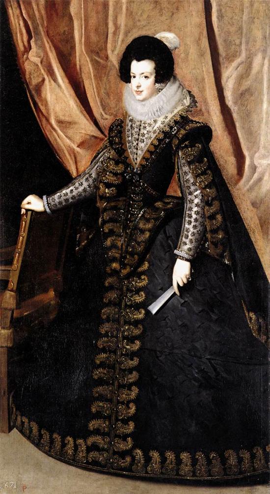 """1632 Веласкес Диего """"Королева Изабелла стоя."""""""