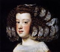 Инфанта Maгнa Тереза. 1652