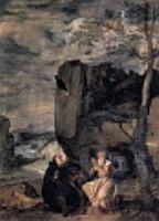 Аббат Св. Антоний и отшельник апостол Павел. 1635