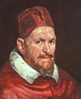 Папа Иннокентий X. 1650