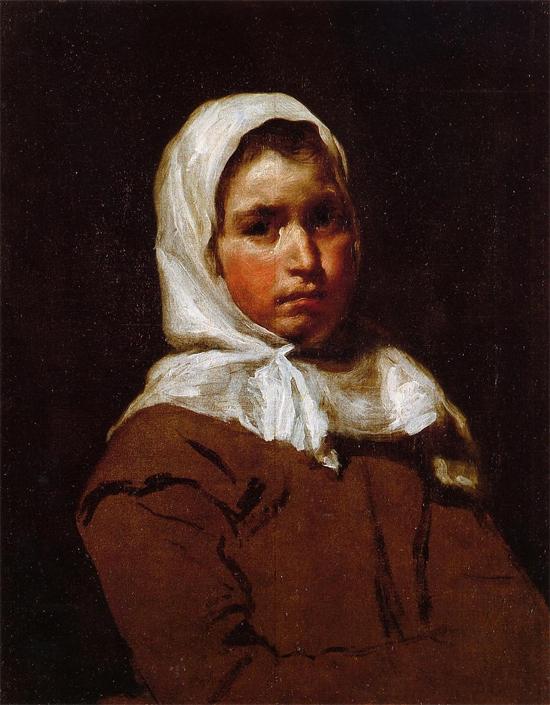 """1642 Веласкес Диего """"Молодая крестьянка."""""""