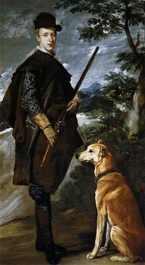 """1633 Веласкес Диего """"Кардинал инфант дон Фернандо на охоте."""""""