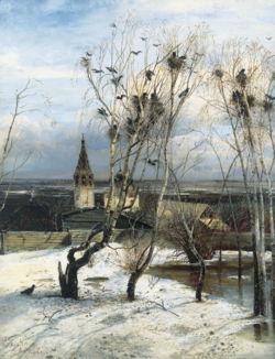 Грачи прилетели, 1871
