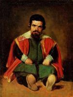 Портрет придворного шута (Себастьяна Морры?).1645