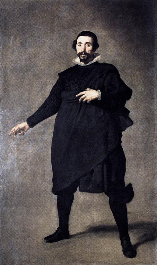 """1637 Веласкес Диего """" Шут Пабло де Вальядолид."""""""
