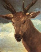 Голова оленя. 1626-27