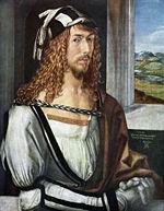 Альбрехт Дюрер, Автопортрет, 1498, Прадо, Мадрид