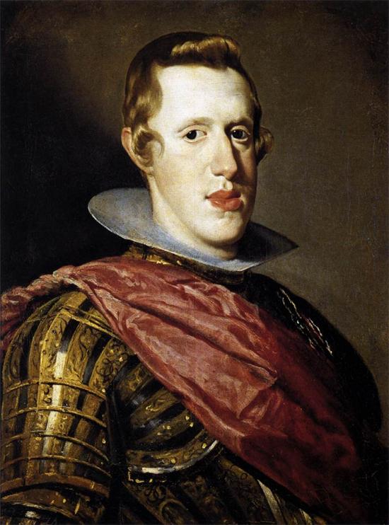 """1628 Веласкес Диего """"Филипп IV в доспехах."""""""