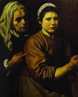Христос в доме Марты и Марии (Фрагмент). 1618