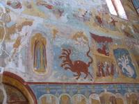 Уникальные фрески собора Воздвижения в Романове-Борисоглебове