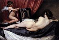 Венера в зеркале (Отражение Венеры). 1649