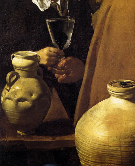 """1623 Веласкес Диего """"Севильский продавец воды (фрагмент)."""""""
