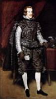 Филипп IV в коричневом и серебре. 1631