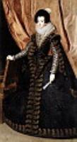 Королева Изабелла стоя. 1632