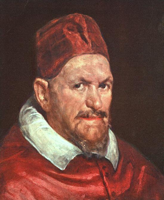 """1650 Веласкес Диего """" Папа Иннокентий X."""""""