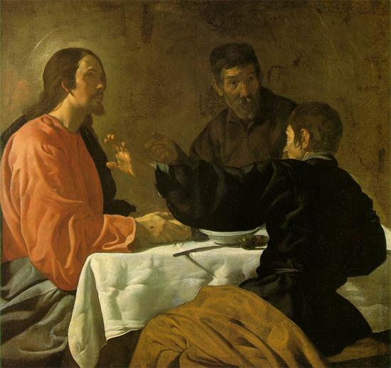 """1620 Веласкес Диего """"Ужин в Эммаусе."""""""