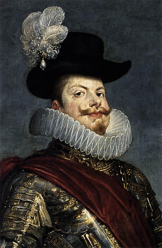"""1634 Веласкес Диего """"Филипп III на коне (фрагмент)."""""""