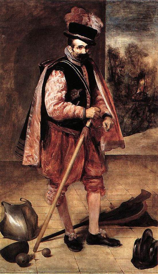 """1635 Веласкес Диего """"Джестер известный как Дон Жуан де Австрия."""""""