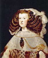 Портрет Марианны Австрийской, королевы Испании. 1657