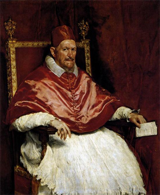 """1650 Веласкес Диего """"Портрет Иннокентия X."""""""