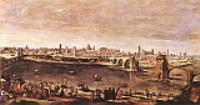 Вид Сарагосы. 1647