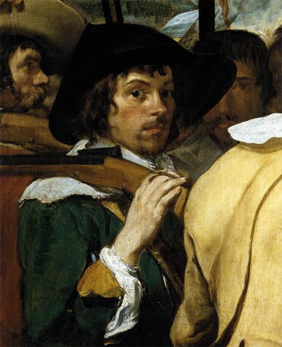 """1634 Веласкес Диего """"Сдача Бреды (фрагмент)."""""""