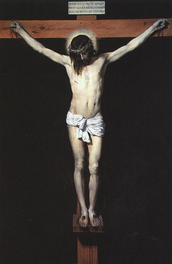 "1632 Веласкес Диего ""Христос на кресте."""