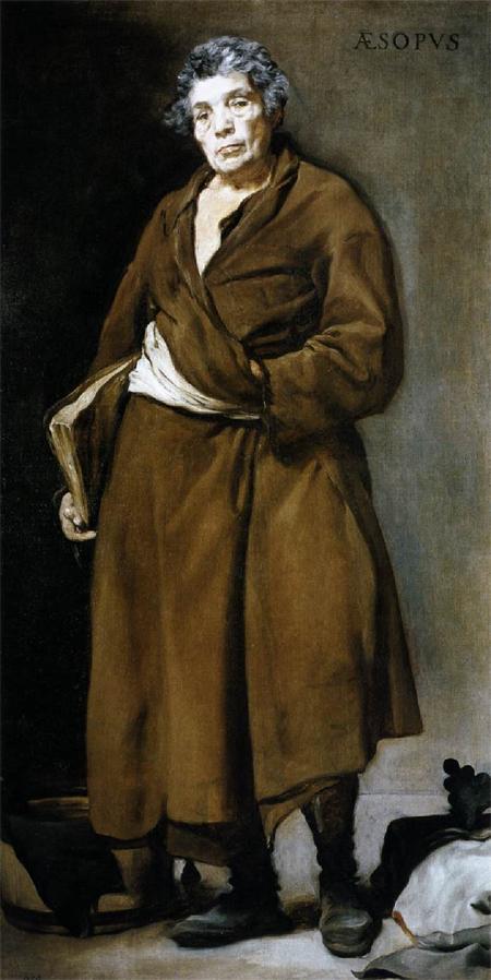 """1639 Веласкес Диего """" Эзоп."""""""