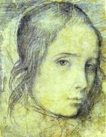 Голова девочки. 1618