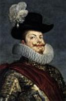 Филипп III на коне (фрагмент). 1634
