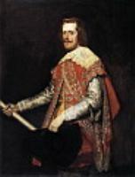 Филиппа IV в военном платье (Ла Фрага).1644