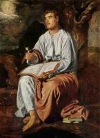 Евангелист Иоанн на Патмосе. 1619-1620