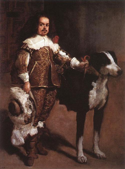 """1642 Веласкес Диего """" Суд карлика дона Антонио эль Инглиса ."""""""
