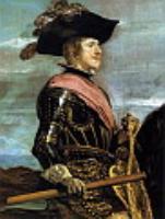 Филипп IV на коне (фрагмент).1634