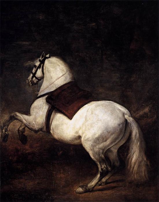 """1634 Веласкес Диего """"Белая лошадь."""""""