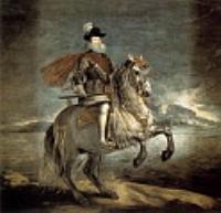 Филипп III на коне. 1634