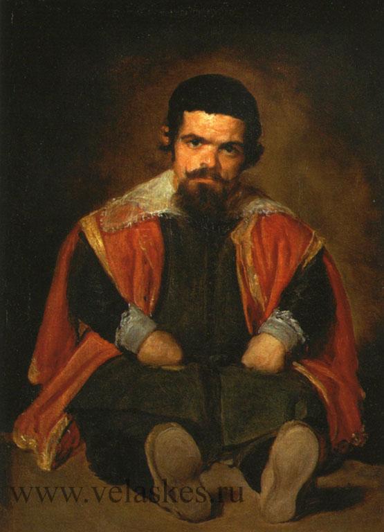 Портрет шута Себастьяна Морры