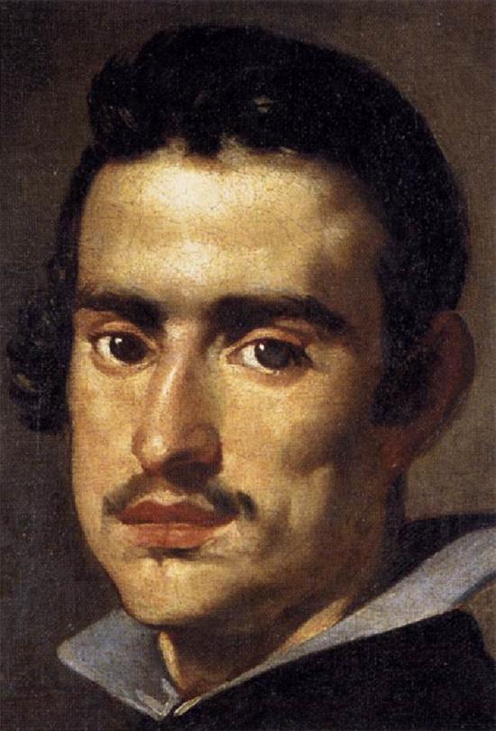 """1623 Веласкес Диего """"Молодой человек (фрагмент)."""""""