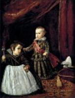 Принц Бальтазар Карлос с карликом. 1631