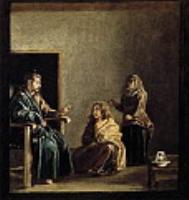 Христос в доме Марфы и Марии (фрагмент). 1620